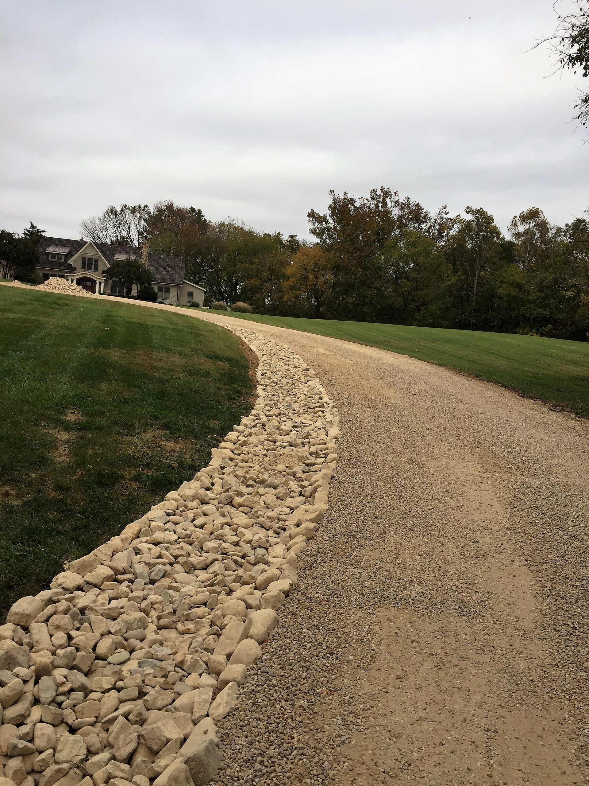Gravel Driveways And Walkways Richmond Va Montpelier Grading